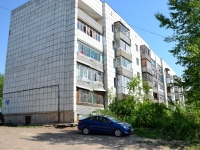 Пермь, улица Есенина, дом 7. многоквартирный дом
