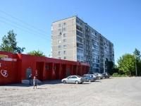 Пермь, улица Балхашская, дом 224. жилой дом с магазином
