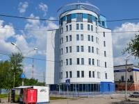 Пермь, улица Патриса Лумумбы, дом 4. строящееся здание
