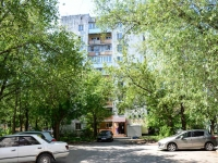 Пермь, улица Патриса Лумумбы, дом 19. жилой дом с магазином