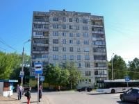 Пермь, улица Суздальская, дом 3. жилой дом с магазином