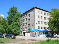 Пермь, улица Обвинская, дом 12А. общежитие