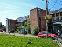 Пермь, улица Гусарова, дом 5. многофункциональное здание