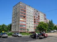 Пермь, улица Гусарова, дом 13. многоквартирный дом