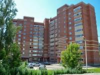 Пермь, улица Омская, дом 2. строящееся здание