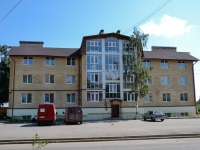 Пермь, улица Высоковольтная, дом 12. многоквартирный дом