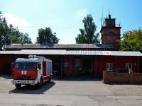 Пермь, улица Машинистов, дом 24. пожарная часть