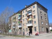 Пермь, улица Адмирала Ушакова, дом 10. многоквартирный дом