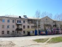 Пермь, улица Адмирала Ушакова, дом 13. многоквартирный дом