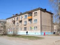 Пермь, улица Адмирала Ушакова, дом 16. многоквартирный дом