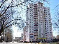 Пермь, улица Адмирала Ушакова, дом 21. многоквартирный дом