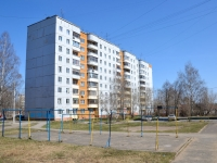 Пермь, улица Танцорова, дом 33. многоквартирный дом