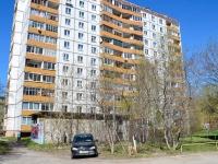 Пермь, улица Ямпольская, дом 13. многоквартирный дом