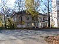 Пермь, улица Академика Веденеева, дом 18. многоквартирный дом