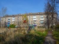 Пермь, улица Генерала Черняховского, дом 25. многоквартирный дом
