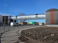 Пермь, улица Верхнемуллинская. мост Пешеходный переход над шоссе Космонавтов