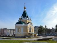 Пермь, улица Верхнемуллинская, дом 72. храм Храм-часовня во имя святителя Николая Чудотворца