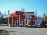 Пермь, улица Писарева, дом 31. автозаправочная станция