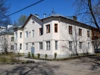 Пермь, улица Графтио, дом 16. многоквартирный дом