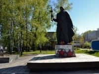 Пермь, улица Гальперина. памятник Рабочим и служащим химико-механического завода, погибшим в годы Великой Отечественной войны