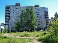 Пермь, улица Кабельщиков, дом 87. многоквартирный дом