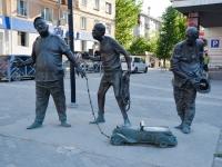 Пермь, Комсомольский пр-кт, скульптурная композиция