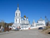 Пермь, улица Висимская, дом 4А. монастырь Свято-Троицкий Стефанов мужской монастырь