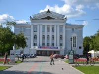 Perm, theatre Пермский государственный академический театр оперы и балета, Petropavlovskaya st, house 25А