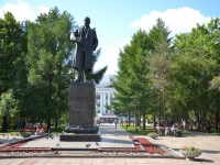 Perm, monument В.И. ленинуPetropavlovskaya st, monument В.И. ленину