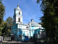 улица Тихая, дом 23. храм Всех святых (кладбищенская церковь)