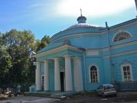 Пермь, храм Всех святых (кладбищенская церковь), улица Тихая, дом 23
