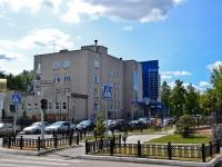 Perm, hospital Институт сердца, Пермская краевая клиническая больница №2, Терапевтический корпус, Sibirskaya st, house 84