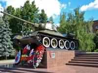 Perm, memorial Добровольческому Танковому корпусуSibirskaya st, memorial Добровольческому Танковому корпусу