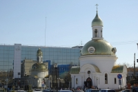 Perm, temple Святого Георгия Победоносца, 25th Oktyabrya st, house 105А