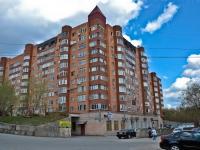 Пермь, улица Плеханова, дом 12. многоквартирный дом