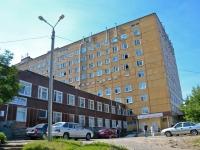 Пермь, улица Ким, дом 2. больница №4