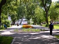 Пермь, улица Ким. сквер На улице Ким