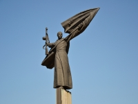Perm, monument воину-освободителюUralskaya st, monument воину-освободителю