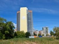 Пермь, улица Николая Островского, дом 40. строящееся здание
