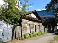 Пермь, улица Николая Островского, дом 22А. неиспользуемое здание