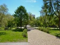Perm, public garden Уральских добровольцевSovetskaya st, public garden Уральских добровольцев