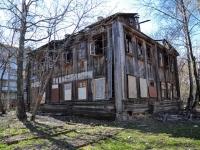 Пермь, улица Голева, дом 14. аварийное здание