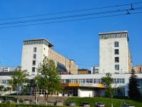 Пермь, улица Попова, дом 12. офисное здание