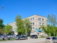 Пермь, улица Связистов, дом 24. многофункциональное здание