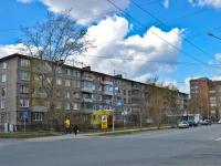 Пермь, улица Крисанова, дом 3. многоквартирный дом