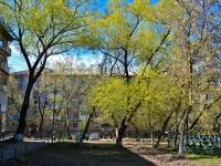Пермь, улица Крисанова, дом 16. многоквартирный дом