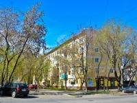Пермь, улица Крисанова, дом 21. многоквартирный дом