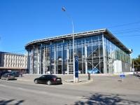 "Пермь, улица Крисанова, дом 4. автосалон ""Mercedes"""