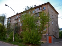 Perm, Yakub Kolas Ln, house 10. Apartment house