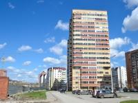 Пермь, улица Кронштадтская, дом 31. жилой дом с магазином